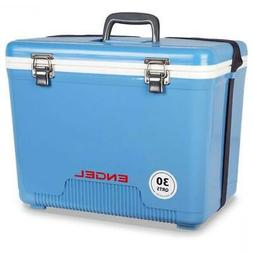 Engel Cooler/Dry Box 30 Qt - Blue