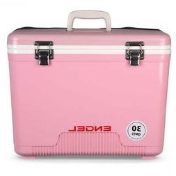 Engel Cooler/Dry Box 30 Qt - Pink