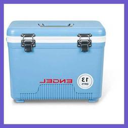 Cooler/Dry Box 13 Qt BLUE Quart FREE SHIPPING Outdoor Recrea
