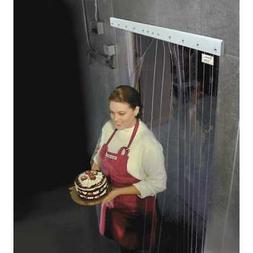 TMI 999-00211 Cooler/Freezer Strip Door,Rnfrcd,7ftH