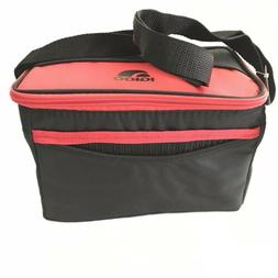 Igloo Cooler Lunch Bag Red Insulated Zipper 12 Can Capacity