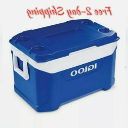 Cooler -Igloo New Latitude 50qt Cooler - Majestic Blue