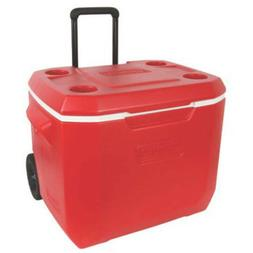 Cooler with Wheels Rolling Coolers on Beverage Backyard for