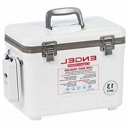 Engel Coolers 13 Quart Live Bait Cooler/Dry Box with Air Pum