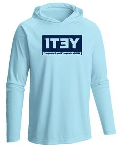 Yeti Coolers Microfiber Long Sleeve UPF 50 Hooded Fishing Sh