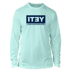 Yeti Coolers Microfiber Long Sleeve UPF Fishing Shirt  - Sea