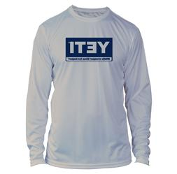 Yeti Coolers Microfiber Long Sleeve UPF Fishing Shirt - Gray
