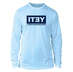Yeti Coolers Microfiber Long Sleeve UPF Fishing Shirt - Arct