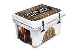 Custom Cooler Accessories Wrap Sticker fits ORCA 58QT L+I Br