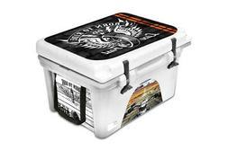 Custom Cooler Accessories Wrap Sticker fits ORCA 58QT L+I Bo