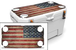 USATuff Custom Cooler Wrap Decal fits Ozark Trail 52qt LID O