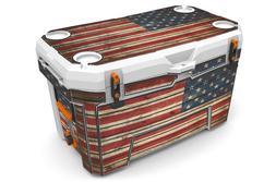 USATuff Custom Cooler Wrap fits Ozark Trail 73qt FULL Old Gl