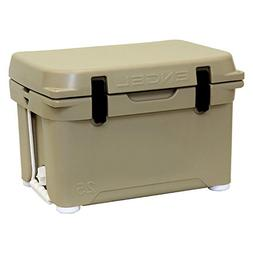 Engel Deep Blue 25Qt 25 Quart Tan DeepBlue Cooler Ice Chest