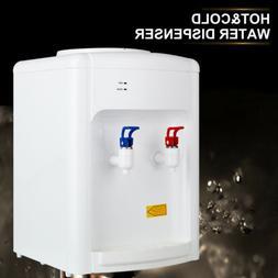 Desktop Electric Hot Cold Water Cooler Dispenser 110V 3-5 Ga