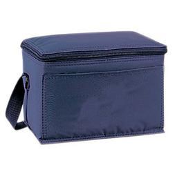 Yens Economy 6-Pack Cooler Navy Blue