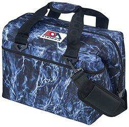 AO Coolers Elements Soft Cooler, 24 Pack, Bluefin, Blue Camo