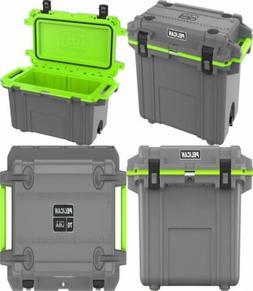 Pelican Elite 70 Quart Cooler Grey/Green