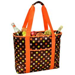 Extra Large Insulated Cooler Tote -Julia Dot