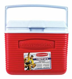 Rubbermaid FG2A1104MODRD 10 Quart Classic Red Victory Person