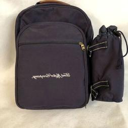 Picnic At Ascot Ford Backpack For 2 Blue With Cooler Pocket