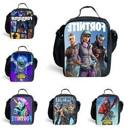 Fortnite Lunch Cooler Bag Box Kids School Trip Red Knight Ba