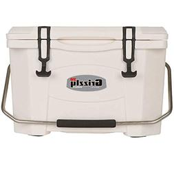 Grizzly G20 W 20QT Cooler with RotoTough Molded Construction
