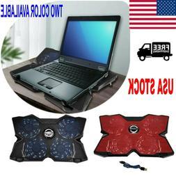 Game Lab Vortex E-Sport LED 4-Fan Advanced Laptop Cooler US