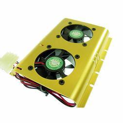 Evercool Hard Disk Cooler Fans Heat Sinks Cooling Computer C