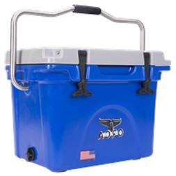 heavy duty 20 quart cooler blue grey