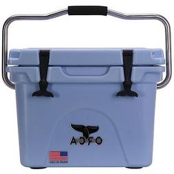 ORCA Heavy Duty 20 Quart Cooler Made In USA LIGHT BLUE