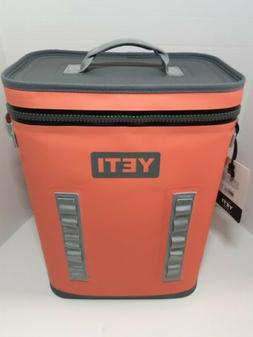 Yeti Hopper Backflip 24 Backpack Cooler NEW COLOR Coral