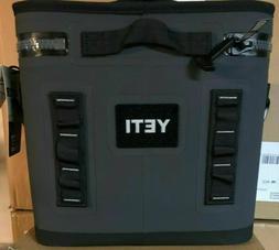 YETI Hopper FLIP 12 can CHARCOAL Soft Side Cooler - BRAND NE