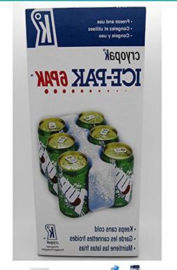 Cryopak ICE-PAK CAN CHILLER ICE 6 PACK