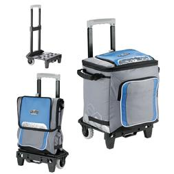 Arctic Zone IceCOLD 50-Can Sports Rolling Detachable Cooler