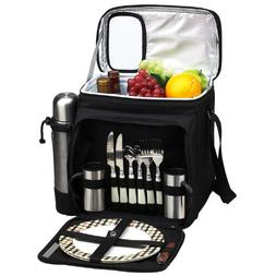 Picnic at Ascot Insulated Picnic Basket/Cooler Fully Equippe
