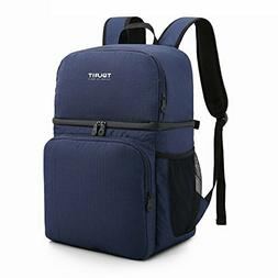 TOURIT Insulated Cooler Backpack Double Deck Light Lunch Bac