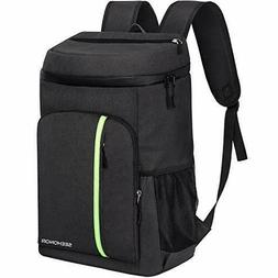 SEEHONOR Insulated Cooler Backpack Leakproof Soft Cooler Bag