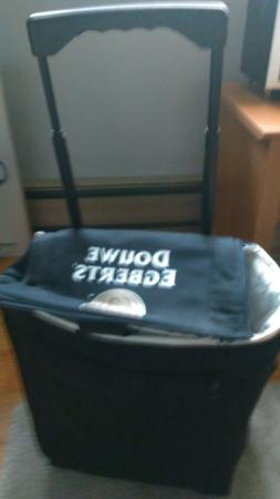 Insulated Freezer/Cooler Bag With Wheels Bag Compressible St