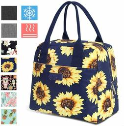 Insulated Lunch Bag 7.5L Thermal Cooler Tote Box with Pocket