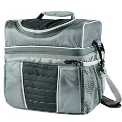 Insulated Lunch Bag Box 16-Can Soft Thermos Cooler Hot Cold
