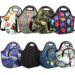 Nuovoware Insulated Lunch Bag Neoprene Lunch Tote Reusable P