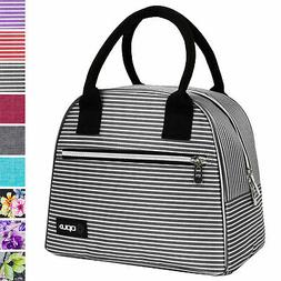 Insulated Lunch Bag Purse Thermal Bento Cooler Food Tote for
