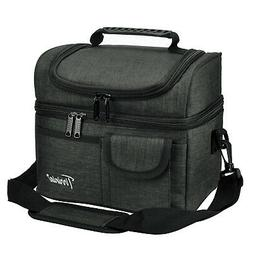 Insulated Lunch Bag Totes Cooler Large Bento Lunch Box Bag f