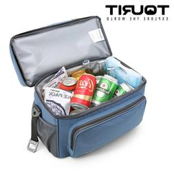 TOURIT Insulated Soft Cooler Bag 15 Cans Large Lunch Bag Tra