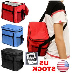 Insulated Thermal Bag Picnic Lunch Box Portable Cooler Tote