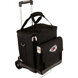 Picnic Time Kansas City Chiefs Cellar w/Trolley Outdoor Cool