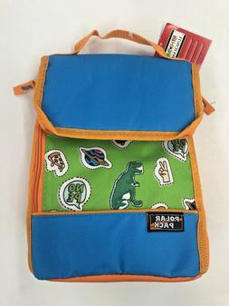 Polar Pack Kids Hot Cold Insulated Cooler Lunch Box Sack