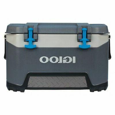00049783 beverage cooler 50 qt cap gray