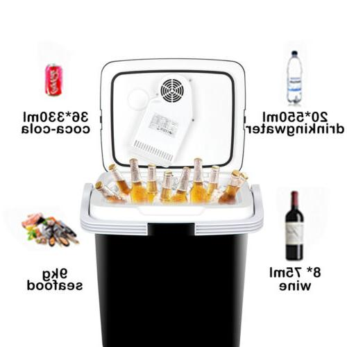 12v portable car iceless thermoelectric cooler