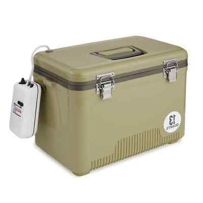 Engel 13 Quart Insulated Live Bait Fishing Outdoor Cooler wi